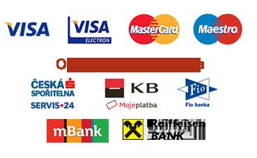 Možnosti platby kartou